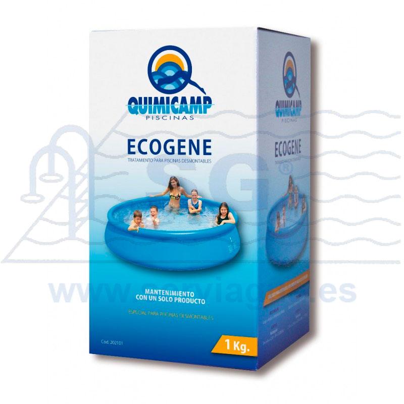 Productos qu micos ecogene 1 kg tratamiento para for Productos piscina