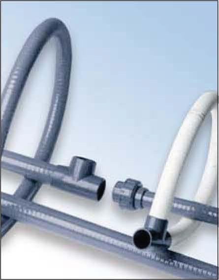 Accesorios pvc presi n y tuberia flexible tubo flexible pvc - Tuberia pvc presion ...
